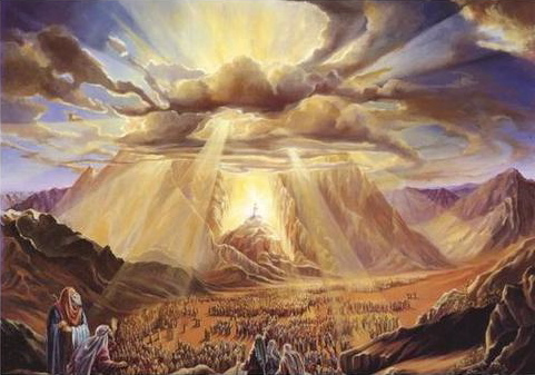 Glory of God on Mount Sanai
